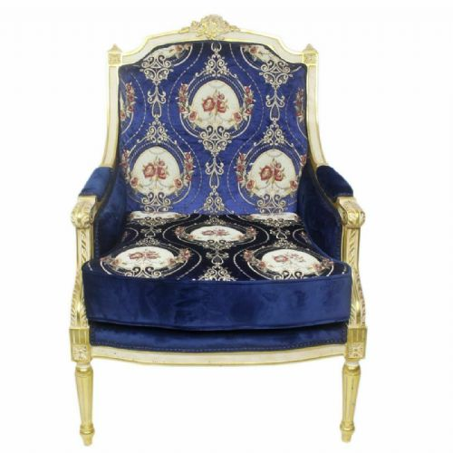 ARMCHAIR - PALACE BAROQUE STYLE ARMCHAIR MOSCOW #MB260B